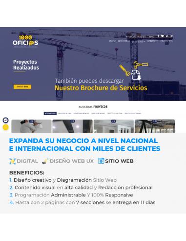Sitio Web Corporativo - 4 páginas