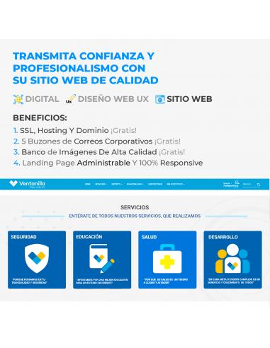 Sitio Web Corporativo 6 páginas